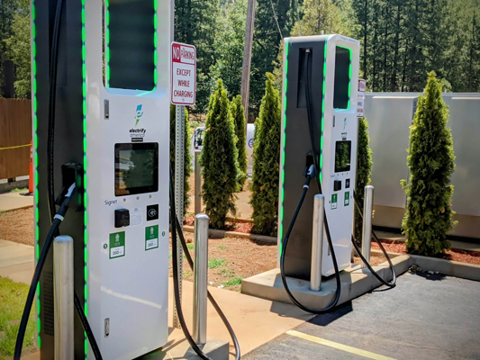 Charging Station Area