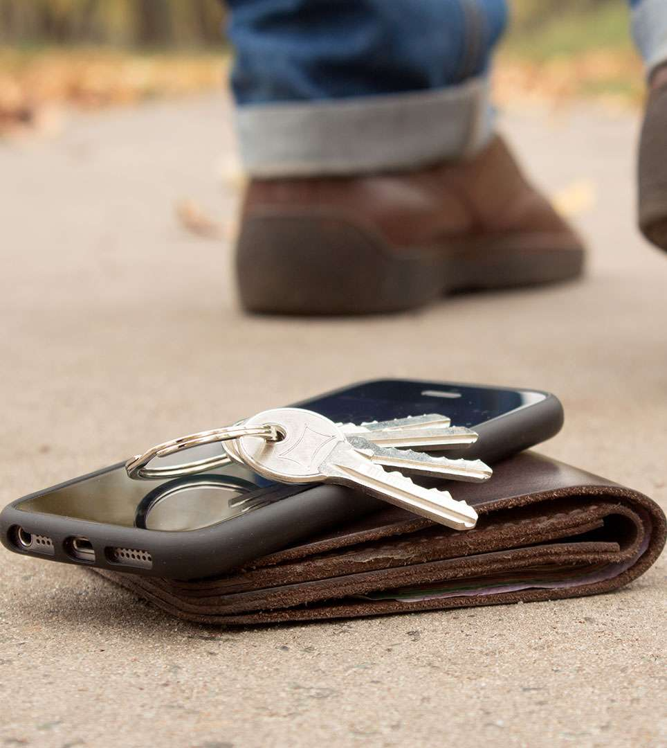 Sometimes Guests Leave Something Behind. Report Your Lost Item Here