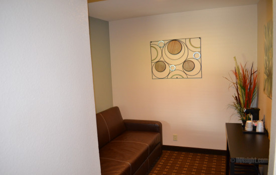 Room #611 Sofa and Seating Area